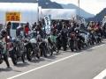 三原かき小屋にバイク集結!